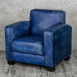 """Кресла - Кресло с мягкими подлокотниками синее """"Норд"""", 0"""