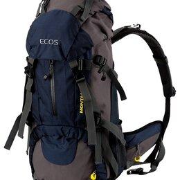 Дорожные и спортивные сумки - Рюкзак ECOS MONTANA темно-синий 45л, 0