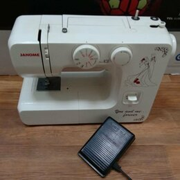 Швейные машины - Швейная машинка Janome 777, 0