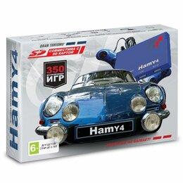 """Ретро-консоли и электронные игры - Приставка игровая 16-8bit """"Hamy 4"""" (350-in-1) Blue, 0"""