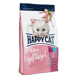 Корма  - Сухой корм Happy Cat Kitten Geflügel 1,4 кг, 0