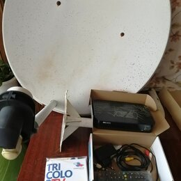Спутниковое телевидение - Триколор тв  gs в 520 с тарелкой  цена  5.500 рублей ( торг) , 0
