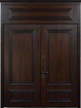 Входные двери - Двупольные двери для коттеджа-Стальная Линия., 0