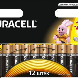Батарейки - Батарейки Duracell AA (пальчиковые) 12 шт, 0