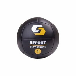Фитболы и медболы - Медицинбол (медбол) Effort EMD1 1 кг, 0
