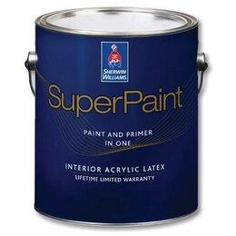 Краски - Краска Sherwin-Williams SuperPaint Interior Latex Flat., 0