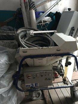 Инструменты для нанесения строительных смесей - Штукатурная станция M-tec m3e , 0