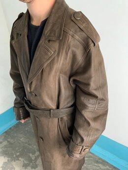 Пальто - Плащ Кожаный Мужской, 0