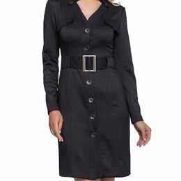 Платья - Платье с поясом 48-50, 0
