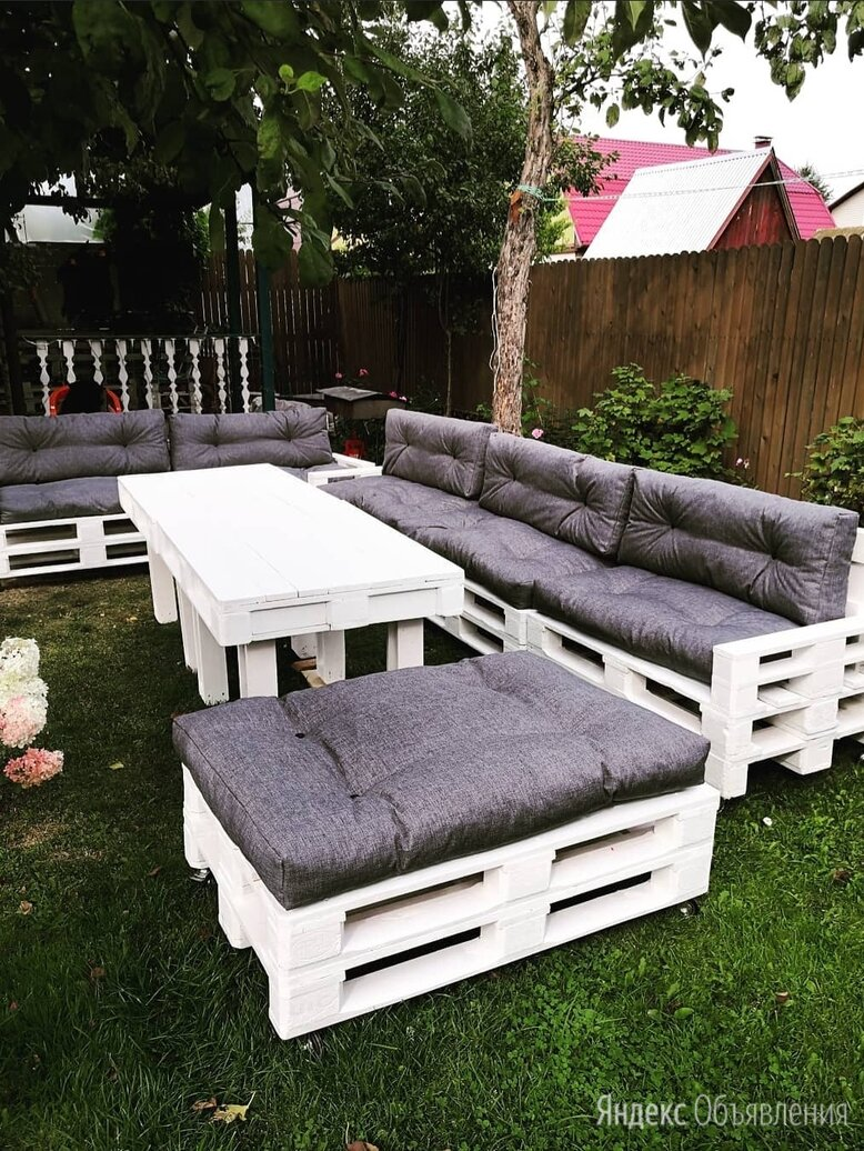 Мебель из паллет по цене 6500₽ - Комплекты садовой мебели, фото 0