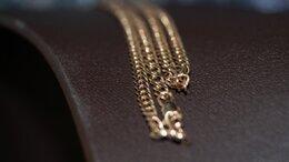 Цепи - Золотая цепь 585 пробы, массой 8.96 грамма, 0