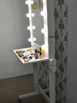 Зеркала - Гримерное зеркало с лампами диодными., 0