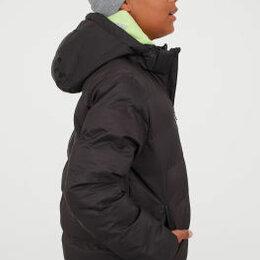 """Куртки и пуховики - Куртка тёплая """"Манго"""" на мальчика 11-13 лет.Цвет чёрный., 0"""