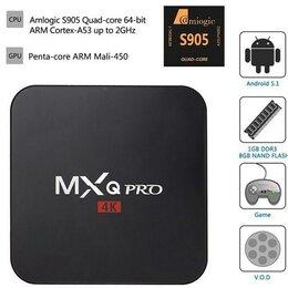 ТВ-приставки и медиаплееры - Смарт ТВ приставка TV Box MXQ Pro 4K 1GB/8GB Amlogic S905W, 0
