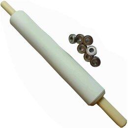 Скалки - Скалка для печенья 30-6см с подшипниками., 0