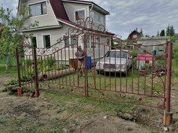 Заборы и ворота - Ворота с элементами ковки , 0