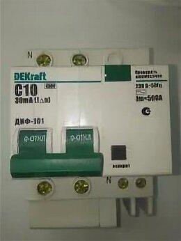 Электрические щиты и комплектующие - DEKraft ДИФ-101 Дифф. автомат 2Р 10А 30мА тип AC…, 0