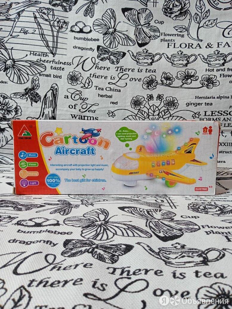 Игрушка мультяшный самолет, артикул:  HJ191A по цене 350₽ - Машинки и техника, фото 0