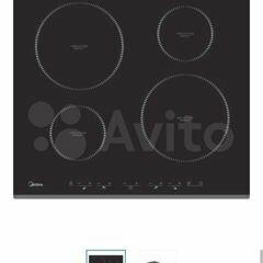 Плиты и варочные панели - Продам индукционную варочную панель Midea MIH64416F, 0