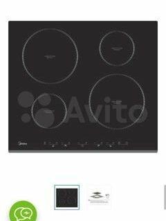 Плиты и варочные панели - Продам индукционную варочную панель Midea…, 0