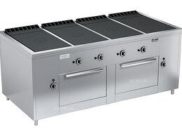 Промышленные плиты - Плита газовая Вулкан ПРГ-IIA-4С 2ДШ Maxi, 0