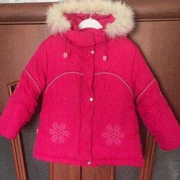Куртки и пуховики - Зимняя куртка 3-5 лет на девочку, 0