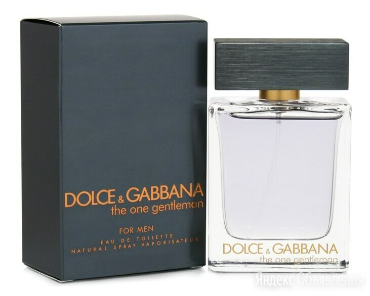 DOLCE & GABBANA THE ONE GENTLEMAN 100 ML по цене 900₽ - Парфюмерия, фото 0