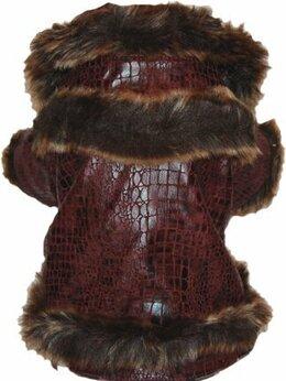 Одежда и обувь - Тёплая куртка для собаки, 0