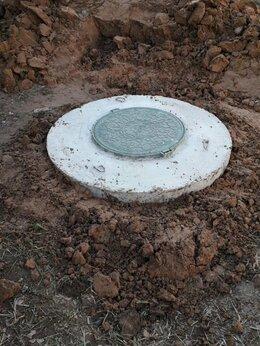 Септики - Установка септиков из бетонных колец , 0