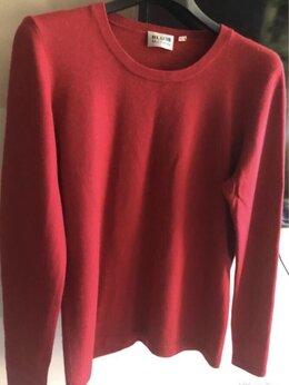 Свитеры и кардиганы - Винный кашемировый свитер, 0