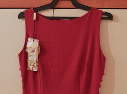 Платья - Красное платье футляр, 0