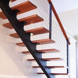 Лестницы и элементы лестниц - Лестница на металлокаркасе, 0