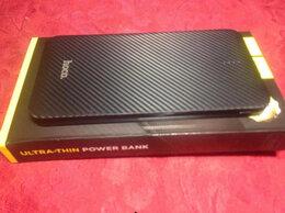 Универсальные внешние аккумуляторы - Повер Банк 5000 mAh UltraSlim 2xUSB / новый, 0