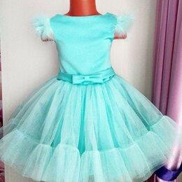 Платья и сарафаны - НОВОЕ  пышное  платье  на  5-6 лет,  идет на рост 110-116 см, 0