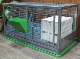 Клетки и домики  - Клетка для кроликов с кормушкой и маточником!!!…, 0
