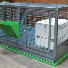 Клетки и домики  - Клетка для кроликов с кормушкой и маточником!!! Данный товар только под заказ, 0