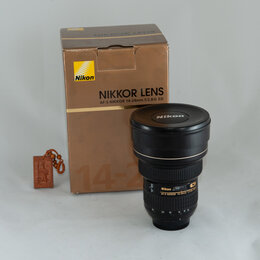 Объективы - Объектив AF-S Nikkor 14-24MM F/2.8G ED, 0