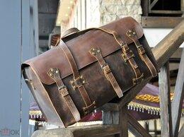 Дорожные и спортивные сумки -   Кожаная оромная дорожная сумка, 0