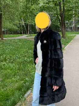 Шубы - Шуба норковая Blackglama, 0