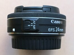 Объективы - Объектив Canon EF-S 24mm f/2.8 STM, 0