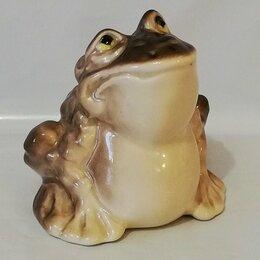Статуэтки и фигурки - Фарфоровая статуэтка жаба, 0