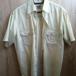 Рубашки - Мужская рубашка на работу, дачу. Размер: 48-50, 0