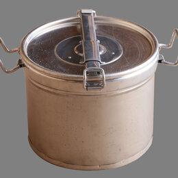 Товары для сельскохозяйственных животных - Емкость для меда ЕМ нерж. укороченная 18 л., 0