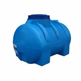 Баки - Бак для воды 300 литров горизонтальный Аквапласт, 0