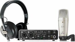 Оборудование для звукозаписывающих студий - Комплект для звукозаписи BEHRINGER U-PHORIA…, 0