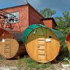 Баня-бочка Лада в Москве по цене 195500₽ - Готовые строения, фото 1