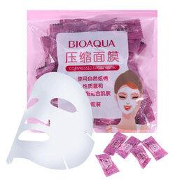Маски - Прессованная тканевая маска-таблетка BioAqua Compressed Facial Mask, 0