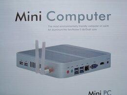 Настольные компьютеры - Безшумный Mini pc Intel i3-7100u 8Gb Ram 64Gb Ssd, 0