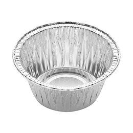 Выпечка и запекание - Алюминиевые формы круглые - 40 мл, 0
