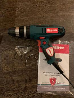 Дрели и строительные миксеры - Ударная дрель Hammer DRL320 Premium, 0